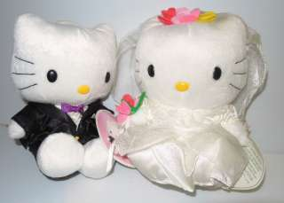 Mcdonalds ~ Sanrio Hello Kitty & Daniel 1999 Wedding Dolls