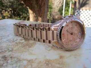 Michael Kors Womens Rose Gold Runway Glitz Blair Watch MK5263 F3