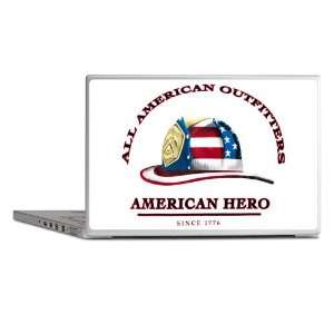 Laptop Notebook 11 12 Skin Cover All American Outfitters Firefighter