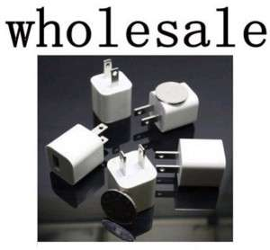 Wholesale USB Wall Charger F iPhone iPod Touch lot/100 pcs US ship