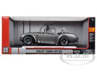 Brand new 1:18 scale diecast model car of 1965 Shelby Cobra 427 SC