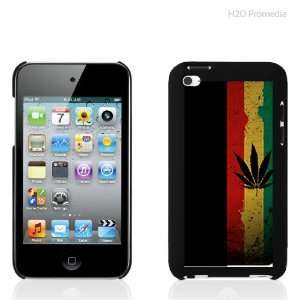 Marijuana Leaf Red Gold Green   iPod Touch 4th Gen Case
