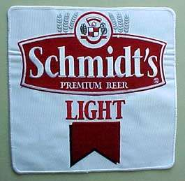 SCHMIDTS LIGHT BEER Jacket or Shirt Patch, PENNSYLVANIA