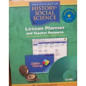 Lesson Planner and Teacher Resource, United States History