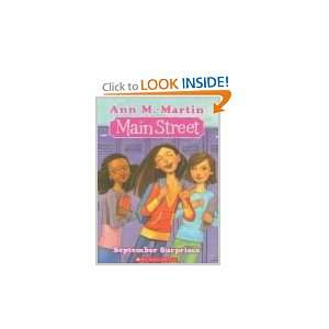 Best Friends (Main Street, Book 4) (9780545050623) Ann M