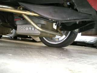 sump oil pan headers custom exhaust and new custom hd suspension this