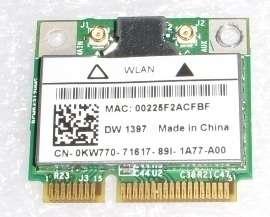 Dell Intel E6505 Half Mini PCI Wireless WiFi Card KW770
