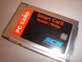 SMC MICROSYSTEMS SMART PC CARD READER/WRITER SCR241