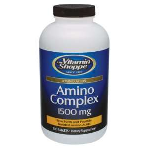 Vitamin Shoppe   Amino Complex, 1500 mg, 300 tablets