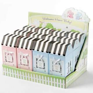 Welcome Home Baby 3 Piece Layette Set in Keepsake Gift Box (Blue)