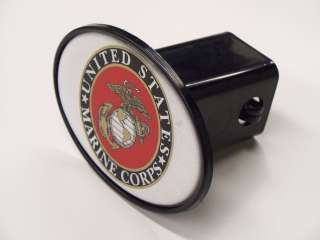 UNITED STATES MARINE CORPS Hitch Cover US Marines Military USMC
