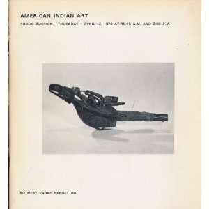 American Indian Art (Thursday April 12 Sale # 3499) Sothebys Books