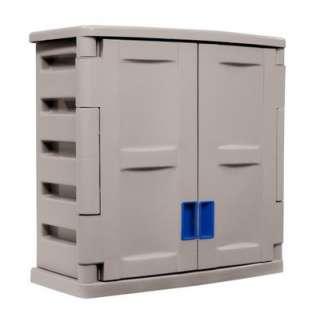 Suncast Garage Storage Wall Cabinet Large Utility Unit