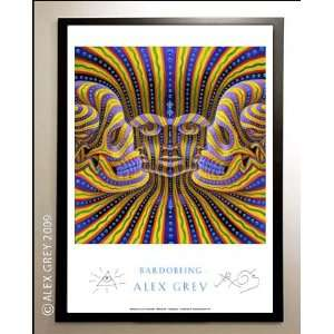 Framed BardoBeing Poster Signed by Alex Grey: Everything