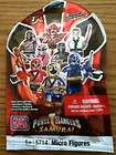 MEGA BLOKS POWER RANGER SAMURAI SERIES 1 UNOPENED