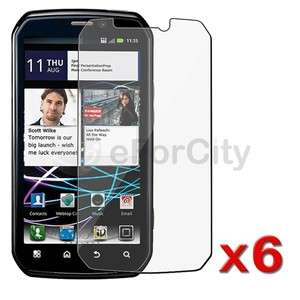 Photon 4G Electrify Premium SCREEN PROTECTOR FILM LCD GUARD X6