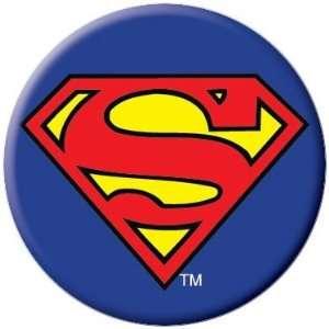 DC Comics Superman Logo Button 81071: Toys & Games