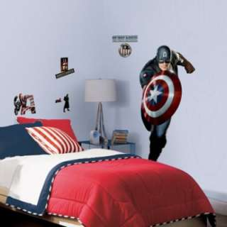 RoomMates Captain America Peel & Stick Giant Wall Decal