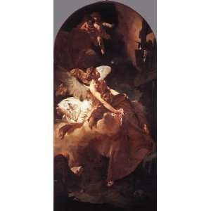 name The Ecstasy of St Francis, by Piazzetta Giovanni Battista Home