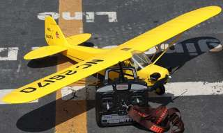 Fly Trainer RC Electric Brushless J3 Piper Cub Plane Airplane RTF J 3