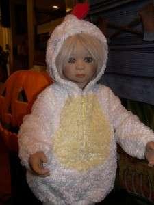 Costume  Chicken   fits Smaller Annette Himstedt Doll