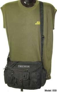 FORCE RECON Gear Bag US USMC Marine w/Patch/Badge 05B