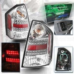 LED Tail Light   Clear Lens w/ Red Reflector   DEPO   SAE DOT Approved