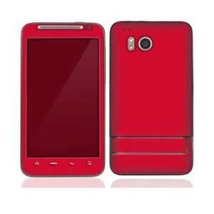 Simply Red Protective Skin Cover Decal Sticker for HTC