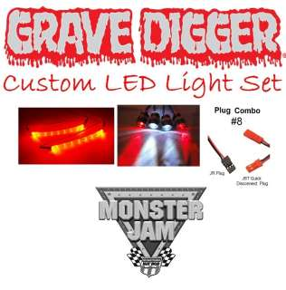 Jam Grave Digger Custom LED Light Set (Body Not Included)