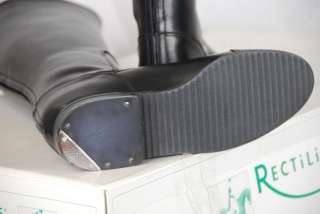 RECTILIGNE MARYLAND LEATHER RIDING BOOT Black 39 N M