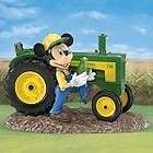 john deere a deere lightful crop mickey figurine expedited shipping