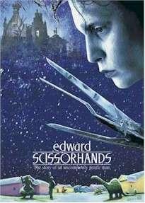 MOVIE POSTER ~ EDWARD SCISSORHANDS (Johnny Depp) BLADES