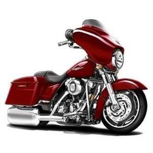 Harley Davidson Street Glide motorcycle bike *Original Art