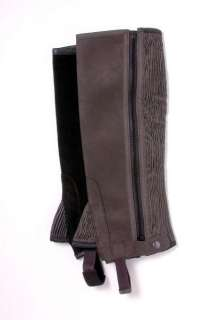 Tough 1 Luxury Synthetic Suede Half Chaps