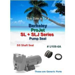 Berkeley ProJet SL & SLJ Pump Shaft Seal U109 6A