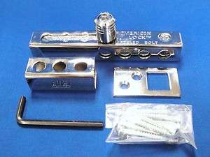 American A895 High Security Hasp Bolt Lock Slide Surface Mount up to 7