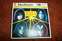 KISS View Master 3 d Pics 1978/79 3 Reels. Excellent