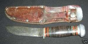 REMINGTON UMC Rh 32 Hunting/Skinning Knife w/Sheath