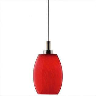 Philips Forecast Lighting Meg Low Voltage Mini Pendant Shade in Amber