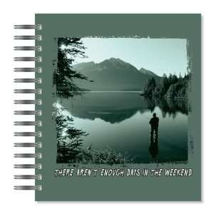 Weekend Fishing Picture Photo Album, 18 Pages, Holds 72 Photos