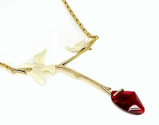 Disney Couture Snow White White Dove Necklace