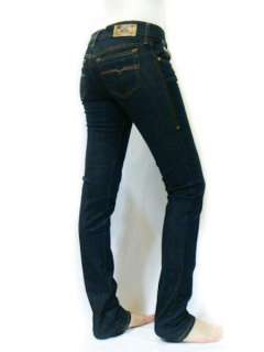 NWT Diesel Women Stretch Super Slim Skinny Dark Blue Getlegg 881K