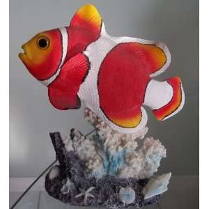 10 Tropical Fish Figurine Home & Kitchen