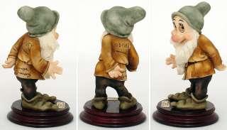 Giuseppe Armani BASHFUL Snow White dwarf Walt Disney MINT IN BOX