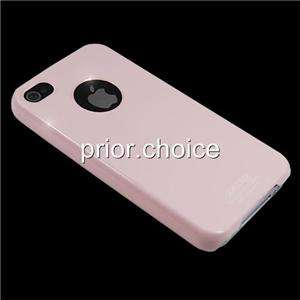 NEW BABY PINK ULTRA THIN SMOOTH UV CRYSTAL HARD CASE COVER FOR APPLE