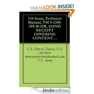 US Army, Technical Manual, TM 9 2350 259 10 HR, HAND RECEIPT COVERING