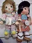 LOT OF 2 VINTAGE PRECIOUS MOMENTS DOLLS NWT NEW 1980S