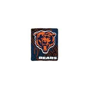 NFL Chicago Bears Tattoo Super Plush Throw Sports