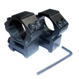 Low Scope Mounts 1 Rings for Weaver 20mm Rail M2020 1