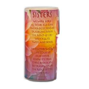 Galleria LED Lighted Candle Sisters Poem Large: Everything Else
